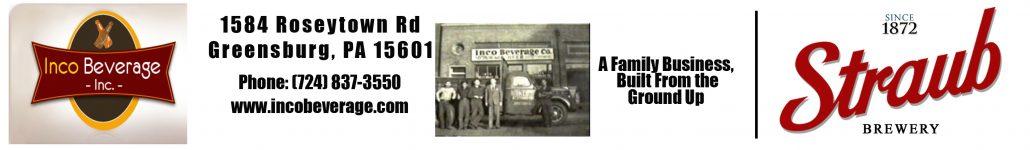 Straub Beer Greensburg PA