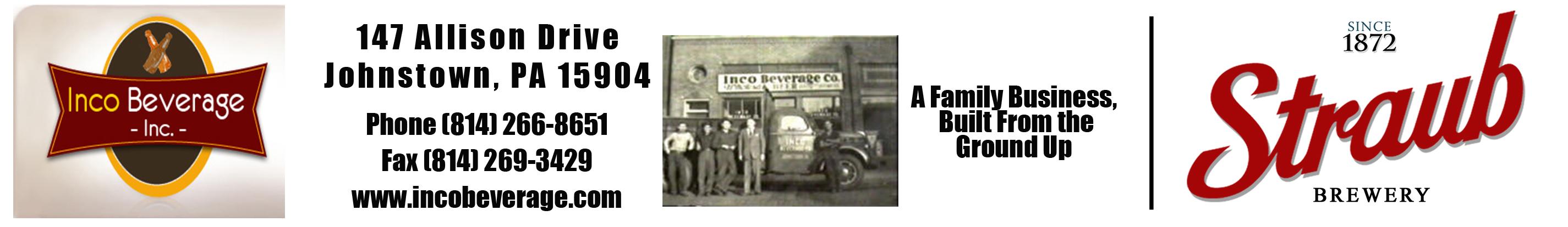 Inco Beverage Straub Beer