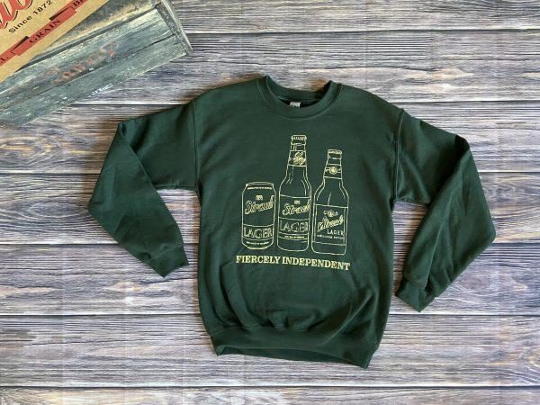 Straub green hoodie