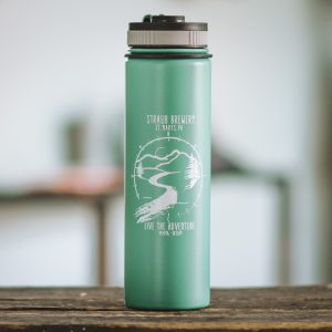Straub Brewery water bottle